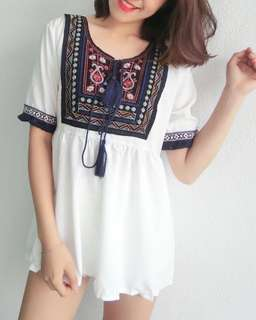 🆕Embroidery Top