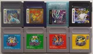 LF: Japanese Pokemon Games