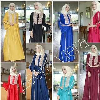 Dress Zeera Viera (dress, gamis, daster arab, dubai, turki)