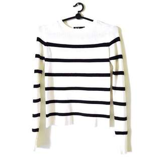 BN CHICABOTTI STRIPES SWEATER (SIZE S)
