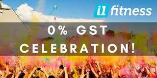 0 % GST Celebration