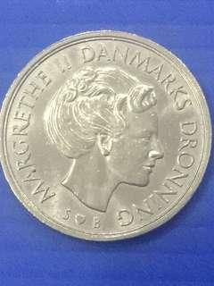 Danmark 1 Krone Y1976