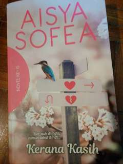 Novel Kerana Kasih - Aisya Sofea