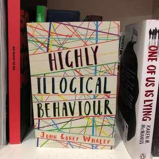 Highly Illogical Behaviour Novel
