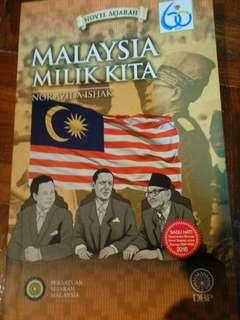 Novel Malaysia Milik Kita
