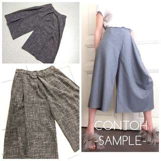 Cullotes Pants Size XL