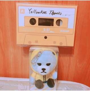 🚚 🌸水晶男孩 Sechskies 20週年官方明信片+小熊🐻