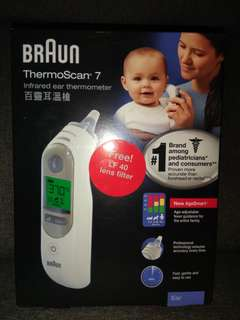 BRAUN Thermoscan 7 - Infrared Ear Thermometer - New AgeSmart™ (IRT 6520)