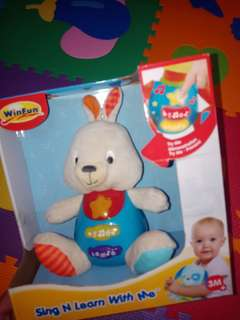 Winfun sing n learn with me rabbit