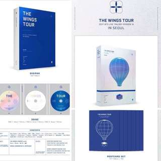 BTS 2017 The Wings Tourin Seoul Blu-ray