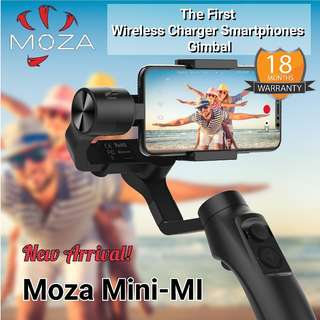 Moza Mini Mi Wireless Charger Gimbal - Ready Stock/18Mths Local Warranty!