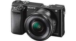 Sony A6000 Kit 16-50mm Mirrorless Kredit Proses 3 Menit Cair