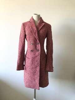 💯真品 近全新Auth Versace Versus coat 長款大褸外套