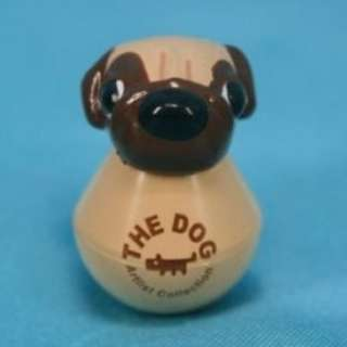 大頭狗 扭蛋 迷你不倒翁 巴哥犬 八哥犬 Koro Koro The Dog Artlist Collection Mini Tumbler Figure Pug