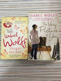Isabel Wolff - The Very Picture of You & Forget Me Not