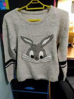 🚚 兔子針織長袖毛衣