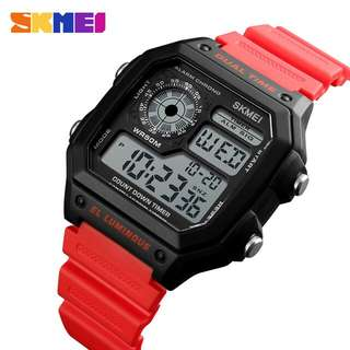 Jam tangan skmei 1335 original plus box