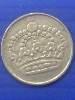 Sweden 25 Ore Y1953