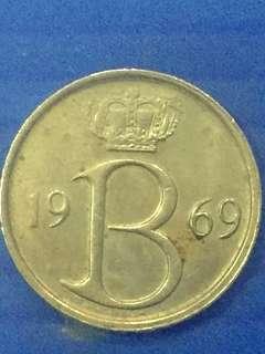 Belgium 25C Y1969