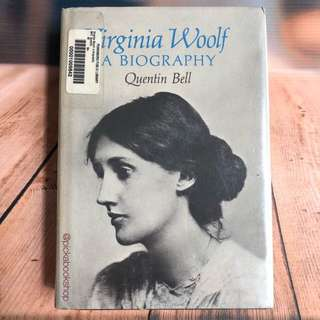 [RARE] Virginia Woolf A Biography - Quentin Bell
