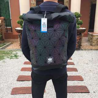 FREE GIFT + FREE POSTAGE! Adidas 3D Backpack | RAINBOW REFLECTED