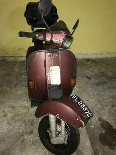 Vespa excel 150(brown)