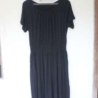 Brand New Uniqlo Black Dress