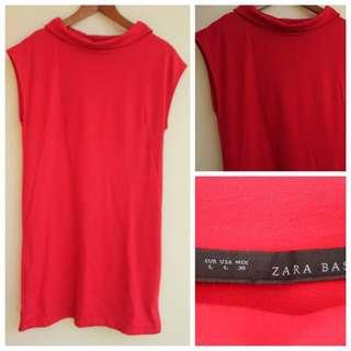 Zara Basic Red Dress