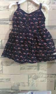 repriced Aztec printed dress