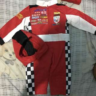 Racer Costume for TAKE ALL