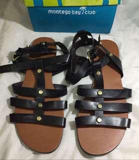 black sandals authentic