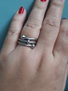 Charriol inspired ring triple