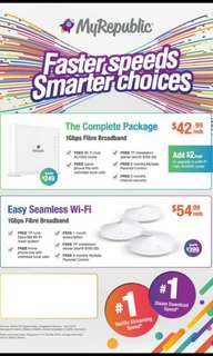 Fastest home or business Wi-Fi Sign up