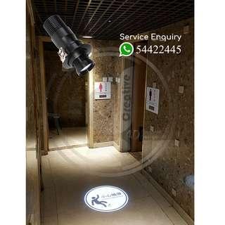 廣告投影燈.LED超薄燈箱.LOGO燈.小心地滑燈.警告標示燈.全息投影機.平面廣告設計