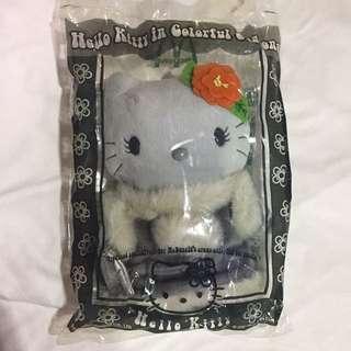 🚚 復古 2001年 麥當勞 hello kitty 冬 玩具