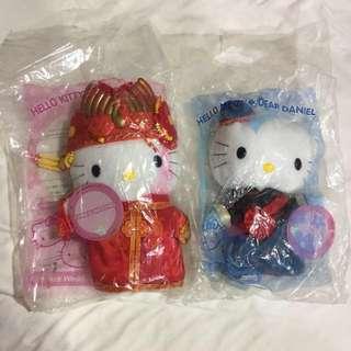 🚚 復古 1999年 麥當勞 hello kitty 京城之戀 玩偶