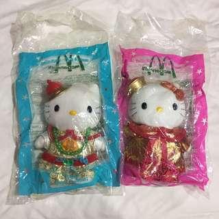 🚚 復古 2000年 麥當勞 hello kitty 情定紫禁城 玩具