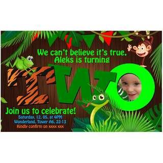 Kids Birthday Invitation Layout