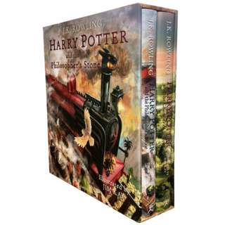 Harry Potter Illustrated Edition Box Set Hardcover