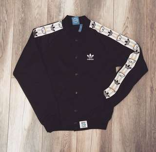 ADIDAS BUTTON UP TRACK TOP