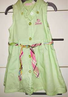 IZOD dress with diaper cover