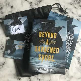 (Limited Edition with signed bookplate) Beyond A Darkened Shore by Jessica Leake