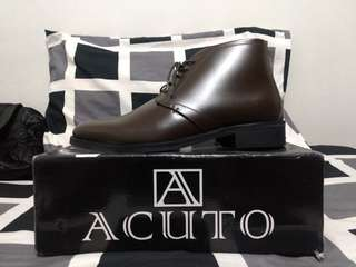 Acuto Genuine Cow Leather Boots