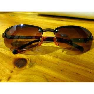 Esprit Sunglasses (Brown tint) w/ Mismatch Hard Case