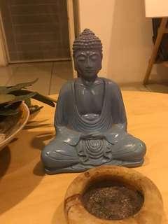 Meditating Buddha in Gradation
