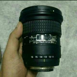 Tokina 11-16mm f/2.8 Pro DX Lens for Nikon Mount