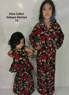 Kebaya Aleesya Kids By Dhia Cotton