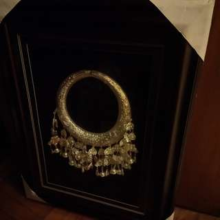 Framed up of a Silver Ornament of the Miao Ethnic Group (贵州黔东南苗族銀饰)