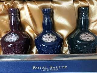 罕有 絕版 全新 芝華士 皇家禮炮21年 酒版 酒板 酒辨 Chivas royal salute not Macallan hibiki yamazaki )