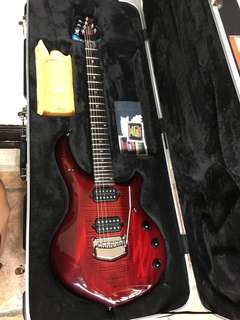 Ernie Ball Music Man Majesty Monarchy Royal Red